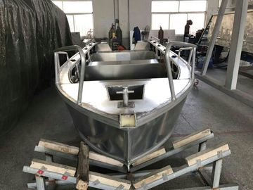Çin Professional Custom Aluminum Fishing Boats 5.2m With Cuddy Cabin Tedarikçi